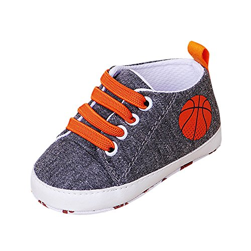 Baby Sportschuhe Schuhe Jungen Mädchen rutschfest Lauflernschuhe Krabbelschuhe Freizeitschuhe weiche Sohle Leinwand Sneak Schuhe,3-12 Monate Yuiopmo -