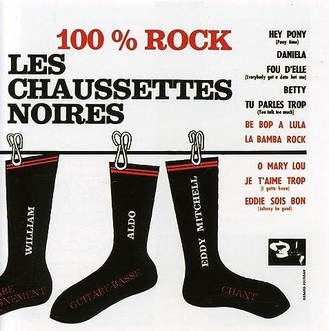 Les Chaussettes Noires 100 Rock - 100%