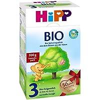 Hipp Bio 3 Folgemilch - ab dem 10. Monat, 8er Pack (8 x 800g)