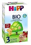 Hipp biologique 3 lait de suite - à partir du 10e mois, 6-pack (6 x 800g)