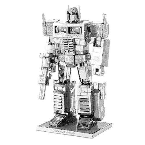 Fascinations Metal Earth MMS300 - 502684, Transformers Optimus Prime, Konstruktionsspielzeug, 2 Metallplatinen, ab 14 Jahren (Optimus Prime Spielzeug Metall)
