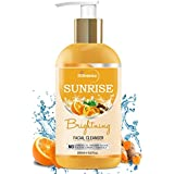 StBotanica Sunrise Facial Cleanser (Brightening Face Wash with Sandalwood, Saffron, Orange, Turmeric, Neem) 200ml