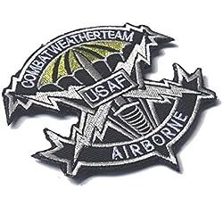 aquiver 3d bordado insignia parche de Estados Unidos Paracaidista Militar parche bordado insignias táctico militar al aire libre Accesorios para Ropa Bolsa de Cap Fighters