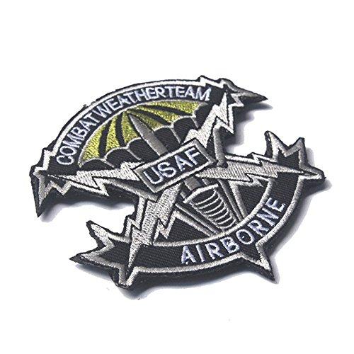 aquiver 3d bordado insignia parche de Estados Unidos Paracaidista Mili