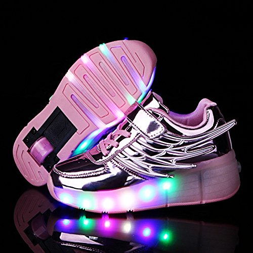 JDream Schlittschuhe Sneakers Design Dance Boot Pink