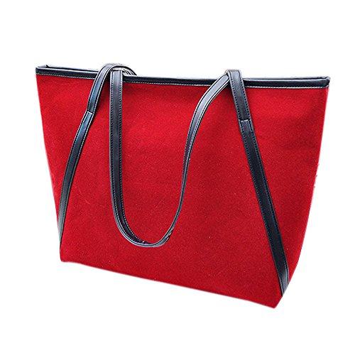 STINNA - Borse a spalla donna Red