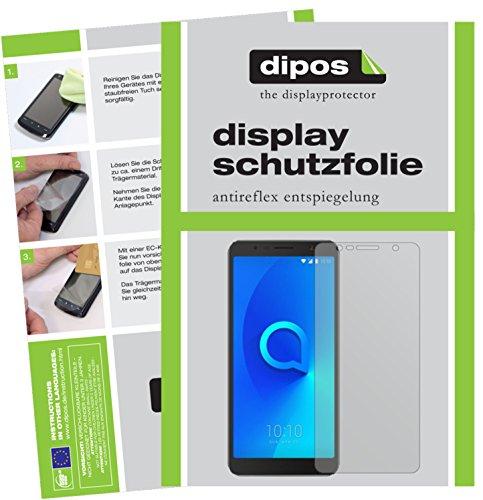 Alcatel 3C Schutzfolie - 2x dipos Displayschutzfolie Folie matt