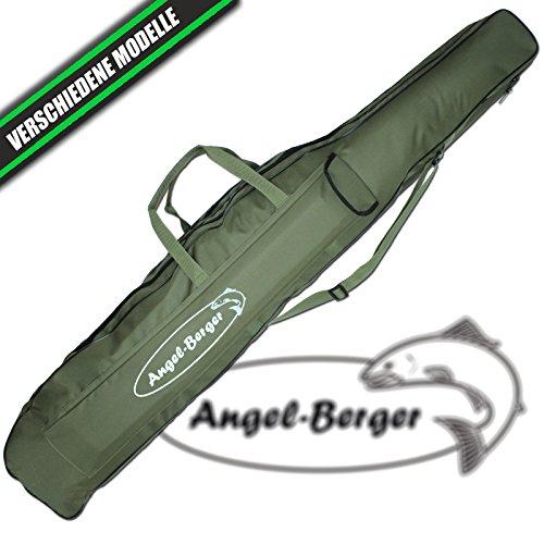 Angel Berger Rutentasche Rutenfutteral viele Modelle (1 Fach 0.80m)