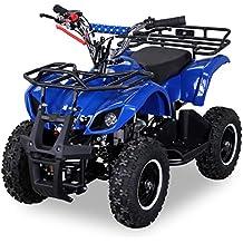 NEU Kinder Miniquad TORINO 49 CC MOTOR 2 Takt ATV Pocket Quad Kinderquad Kinderfahrzeug blau