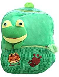 BRANDX Crazy Frog Soft Toy School Bag For Kids, Kindergarten Bag, Carry Bag, Picnic Bag, Teddy Bag, Non-toxic...