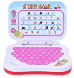 #4: Oviwa Educational Computer ABC and 123 Learning Kids Laptop with LED Display and Music - Pink