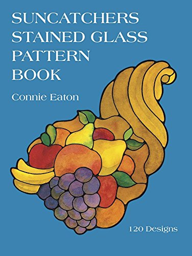 Suncatchers Stained Glass Pattern Book (Dover Pictorial Archives)