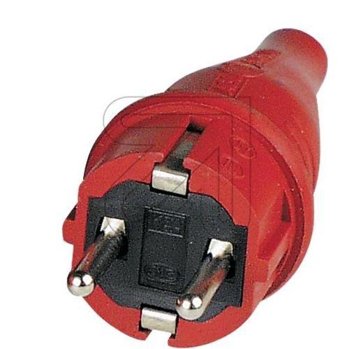 ABL Gummi-Stecker rot 1419140