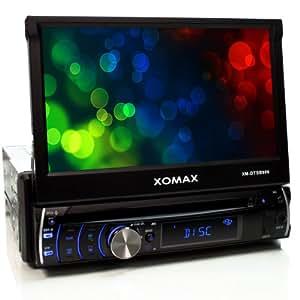 xomax xm dtsb906 autoradio moniceiver avec 18 cm 7 cran tactile bluetooth kit mains. Black Bedroom Furniture Sets. Home Design Ideas