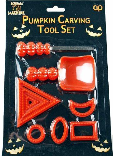 Halloween Kürbis Aushöhlung Werkzeugset Und Ausschnitte