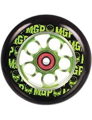 MADD Rolle Aero Wheel 110 mm - Rueda de repuesto para patinete, color verde