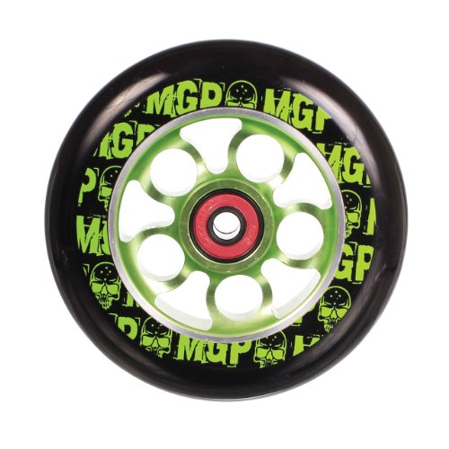 MADD Rolle Aero Wheel 110 mm, Green, 202-581