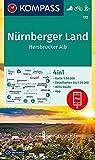 Nürnberger Land, Hersbrucker Alb: 4in1 Wanderkarte 1:50000 mit Aktiv Guide und Detailkarten inklusive Karte zur offline Verwendung in der KOMPASS-App. ... Langlaufen. (KOMPASS-Wanderkarten, Band 172)