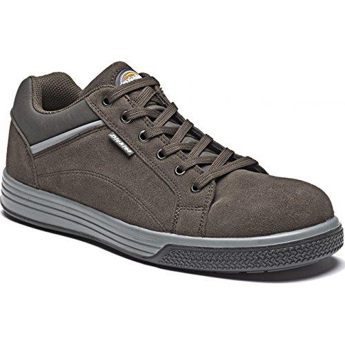 Dickies Anvik - Scarpe sportive senza metallo - Unisex (42 EU) (Marrone)