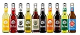 Fritz Kola, Zuckerfrei, Stevia, Zitrone, Holunder, Apfel Kirsche, Apfelschorle, Kola Kaffee, Mischmasch und Melonen Limonade inkl. Pfand (10 x 0.33 l)