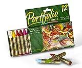 Crayola portefeuille Pastels à l'huile 12ct série