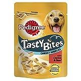 Best Dog Snacks - Pedigree Tasty Bites Dog Treats Cheesy Nibbles Review