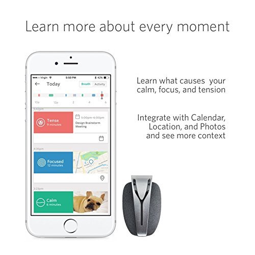 Spire Mindfulness and Activity Tracker for iOS and Android