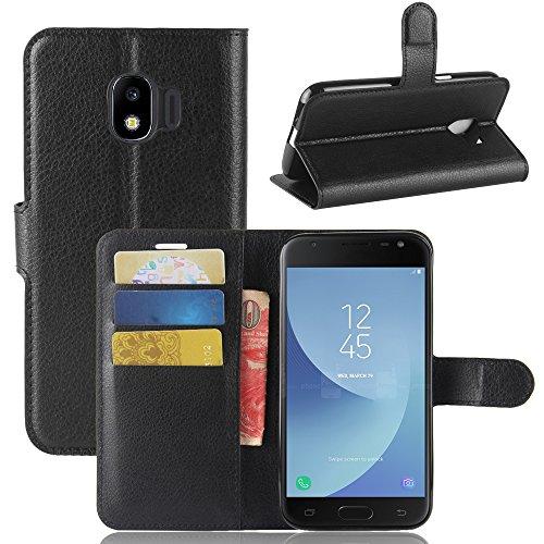 AIOIA Hülle für Samsung Galaxy J2 Pro 2018,PU Leder Hülle Tasche Schutzhülle Handyhülle für Samsung Galaxy J2 Pro 2018