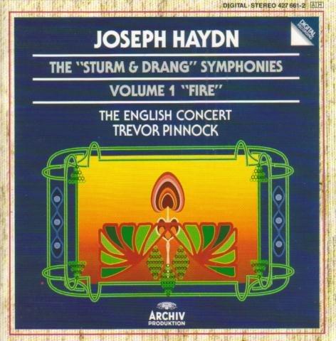 Haydn-Pinnock-les Symphonies Sturm Und Drang Vol 1