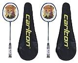 Best Carlton badminton racquet - 2 x Carlton Powerblade Titanium Badminton Rackets RRP Review