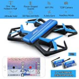 JJRC H43WH Foldable Drone Quadcopter Selfie Drone With Camera , G-Sensor Mode Mini Micro Drone ( 720P HD camera , Wifi Function , Altitude Hold Mode ) for Kids Children Toy Video Drone by RC-group