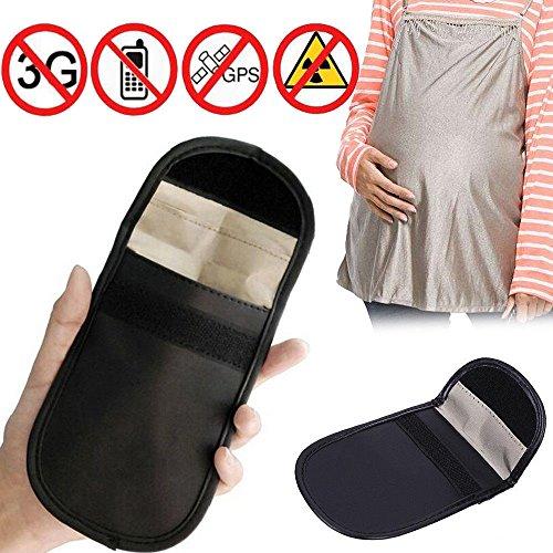 Colorful Signal Blocker Tasche,Keyless Go Schutz Autoschlüssel, Strahlenschutz Tasche für Keyless Schlüssel Auto Signal Keyless Schlüsseletui Funkschlüssel Abschirmung