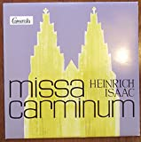 ISAAC, HEINRICH / missa carminum / 1962 / Bildhülle / Camerata # CM 25004 L / Deutsche Pressung / 10