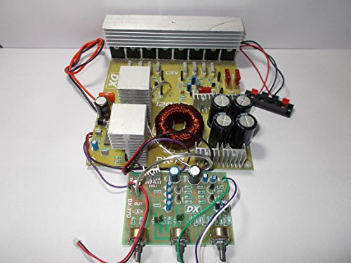 SOUMIK ELECTRICALS 12000 Watt Amplifier Board of 12 DC, 12 Volt Battery, used in Vehicles with 2 Channel Stereo