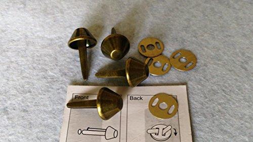 4PATINS de Handtasche Farbe Bronze 15mm