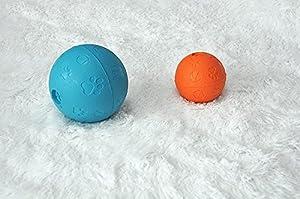 ANPI Jouet pour chien, Intelligence et Entraînement IQ, Ballon interactif en caoutchouc souple pour petits et grands chiens (chiots) - Boule de chien virtuellement indestructible