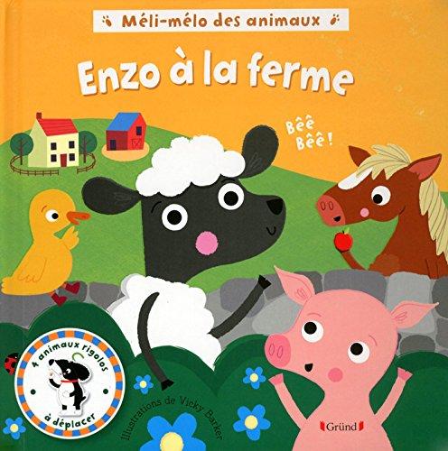 Méli-mélo des animaux - Enzo à la ferme