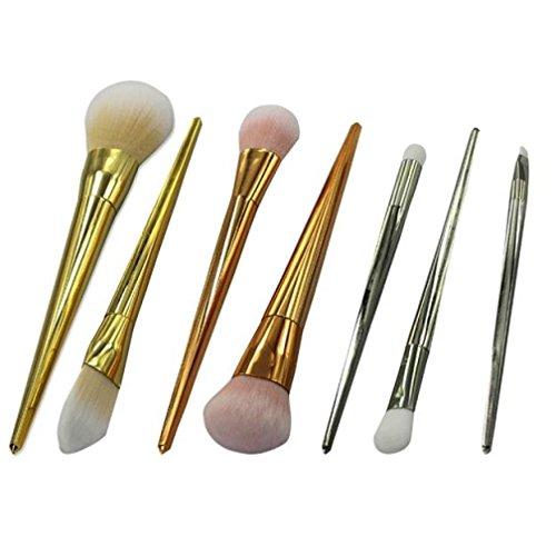 OVERMAL 7 PCS cosmétiques pinceau de maquillage pinceau de maquillage Eyeshadow Brush