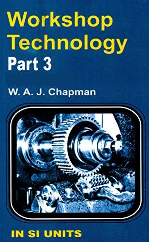 Workshop Technology By Chapman Ebook
