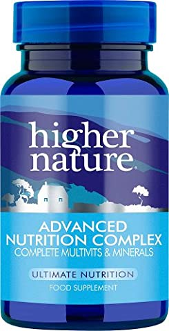 Higher Nature Advanced Nutrition Complex - Pack of 90 Tablets
