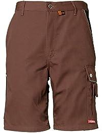 Planam Shorts Canvas 320, größe M, braun / schwarz, 2176048