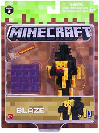 Minecraft Minecraft Minecraft - Figurine 7Cm - Blaze Série 3 Vague 3   Nouveau Produit  80c9f6