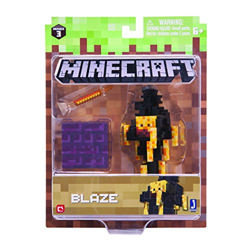 Minecraft 16490 3-Inch Action Figure - Blaze Pack