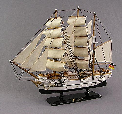 Gorch Fock Segelschiffmodell Modellschiff Schuhlschiff Standmodell Großsegler