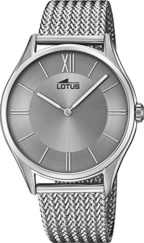 Lotus Minimalist 18487/3 Mens Wristwatch Design Highlight