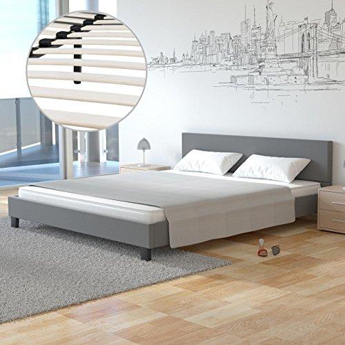 bett 140x200 grau gebraucht kaufen nur 4 st bis 65 g nstiger. Black Bedroom Furniture Sets. Home Design Ideas
