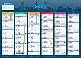 Calendrier 2020 - format A4 - Papier épais - prévu pour l'écriture....