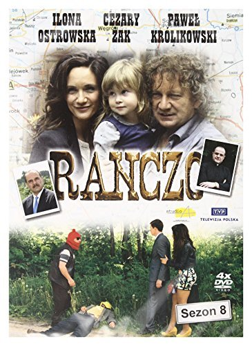 Ranczo Sezon 8 [4DVD] [Region Free] (IMPORT) (No English version) by Ilona Ostrowska