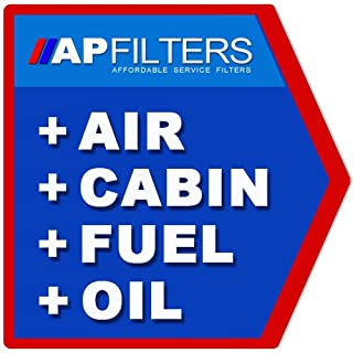 AP Automotive MD9382 MD335 SP2060 MS6160 QF10917 Air Oil Fuel Cabin Filter Service Kit