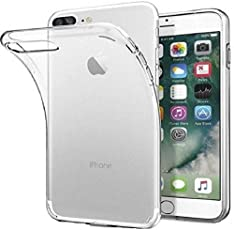 Etrail Plain Silicon Designer Mobile Silicon Back Cover New Designer Cases & Covers for I Phone 7 Plus